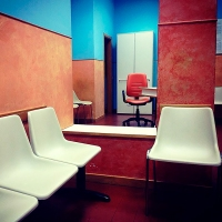 Instagram Series #10. An Orange chair. © Stefano Germi