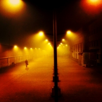 Instagram Series #6. walking in the fog. © Stefano Germi